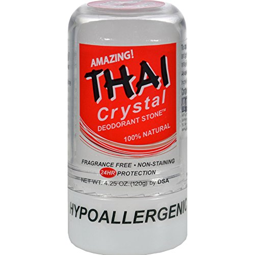 (Thai Deodorant Stone Crystal Deodorant Stone - 4.25 oz (Pack of 4))