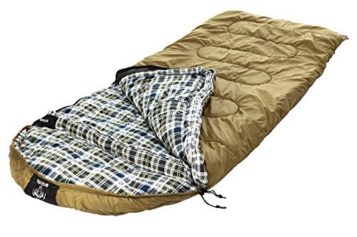 Blackpine Sports Grizzly +0 Degree Ripstop Sleeping Bag (Olive)