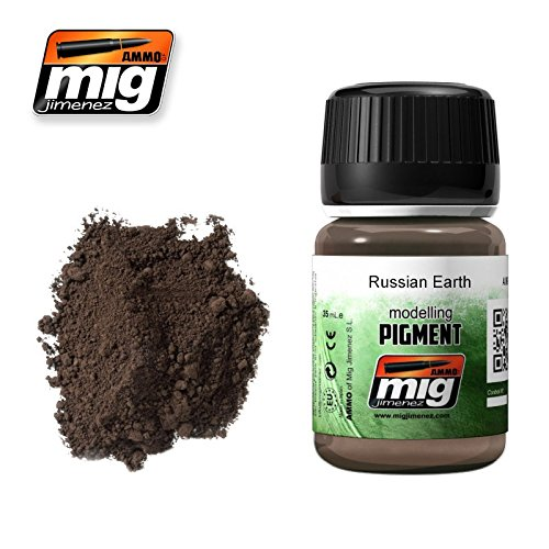 Earth Pigment (Ammo of Mig Jimenez RUSSIAN EARTH Modelling Pigment 35 ml #3014)