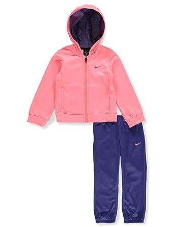 b00fabfbc590 Amazon.com  Nike Girls  2-Piece Sweatsuit - Violet