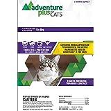 Adventure Plus - DROPS - KILLS Fleas and Eggs - Protection (1 dose) CAT (9+ lbs)