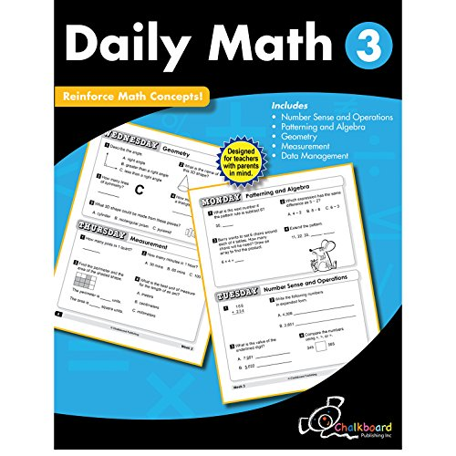 Daily Math Grade 3 (Chalkboard Books)