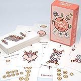 Scwopeuer Kawaii Tarot 78 Cards Deck Of Magic and