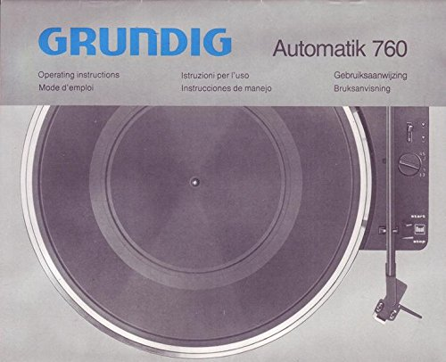 Tv, Video & Audio Grundig Automatik 760