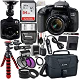 Canon EOS Rebel 800D (T7i) DSLR Camera w/ 18-55mm Lens, Free...