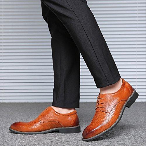 Cordones Amarillo Zapatos para Hombre AARDIMI Caucho de de 6xSqEggwp