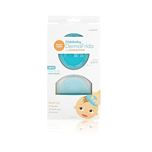 Baby Bath Silicone Brush by Fridababy