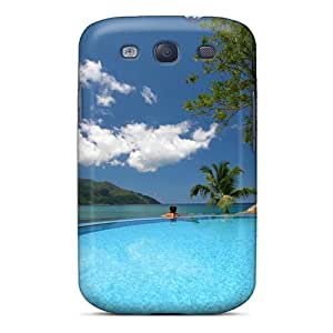 Durable Protector Case Cover With Paradise Swimming Pool Polynesia Hot Design For Galaxy S3