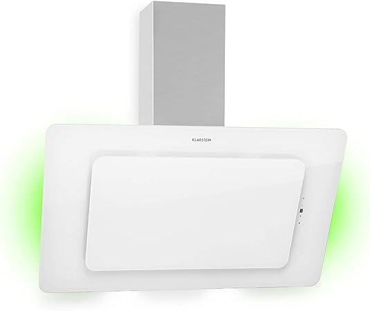 Klarstein Helena 90 - Campana extractora de pared (90 cm) Bianco: Amazon.es: Hogar