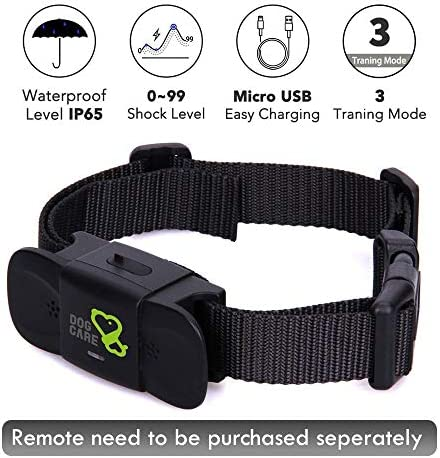 Dog Training Collar Receiver Rechargeable product image