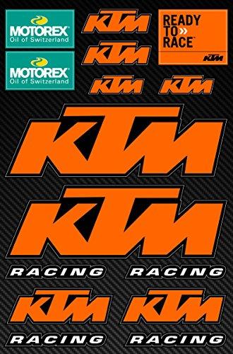 KTM gráfico de vinilo Adhesivos Pegatinas Moto Motorex Motocross Juego
