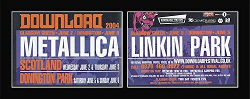 DOWNLOAD FESTIVAL - 2004 - Metallica Linkin Park Matted Mini