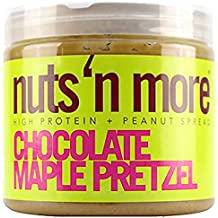 Nuts 'N More High Protein Chocolate Maple Pretzel Peanut Butter (16 oz)