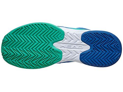 Head Nitro Team Women Blop, Zapatillas de Tenis para Mujer Azul / Verde / Blanco