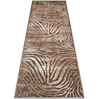Finger Print Rug Runner 32 In. X 7 Ft. Mystig 464 Chocolate