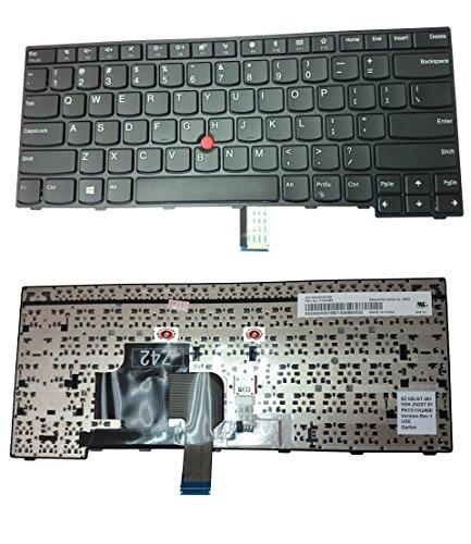 US Layout Laptop Keyboard For Lenovo IBM ThinkPad Edge E470 E475 Compatible 01AX040 SN20K93195 9Z.NBJST.201 NSK-Z42ST PK131N2A00