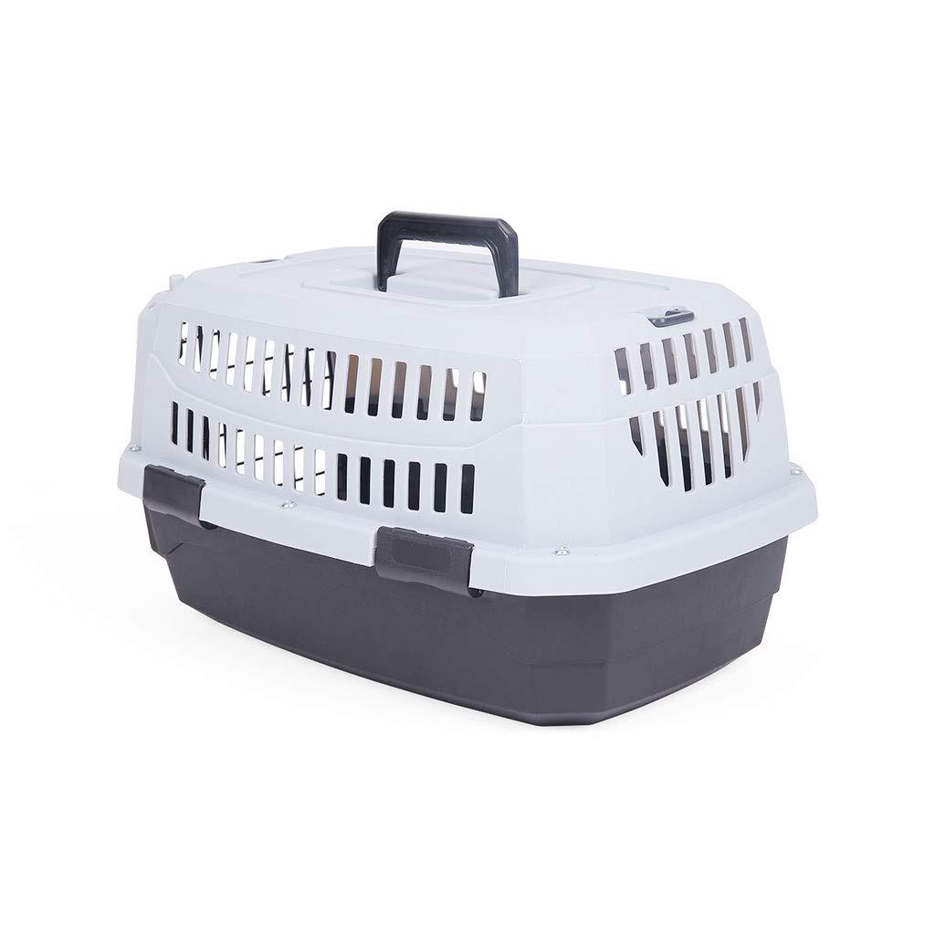 spedizione e scambi gratuiti. JKL Cat Cat Cat Pet Carrier Dog Puppy Gattino Coniglio Trasporto e Gabbia di Viaggio (colore   46X31X23cm)  marche online vendita a basso costo