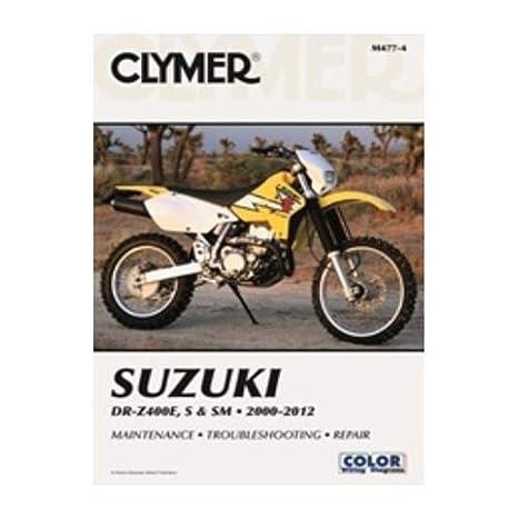 amazon com clymer repair manual for suzuki drz400e s sm 00 09 rh amazon com 2003 suzuki drz 125 service manual pdf 2003 suzuki drz 125 service manual pdf