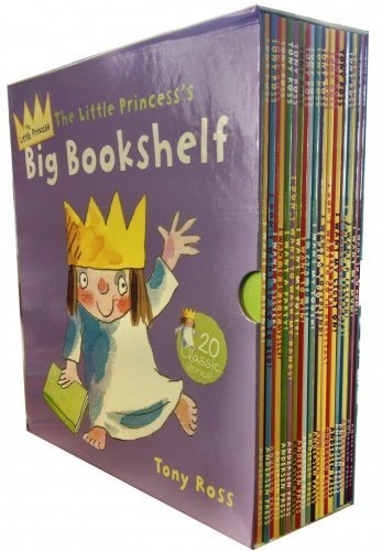 Little Princess Big Bookshelf Collection Tony Ross 20 Children Books Set