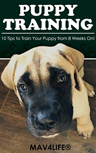 Dog Tips Training (Puppy Training: 10 Tips to Train Your Puppy from 8 Weeks On!)