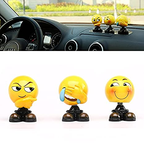 Amazon Com Expression Shaking Head Dolls Car Decoration Ornaments