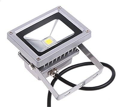 Warm White, 20W : 10W 20W led Floodlight 12V 24V Exterior lighting Flood lamp Cigarette lighter plug car maintenance lights 3m cable