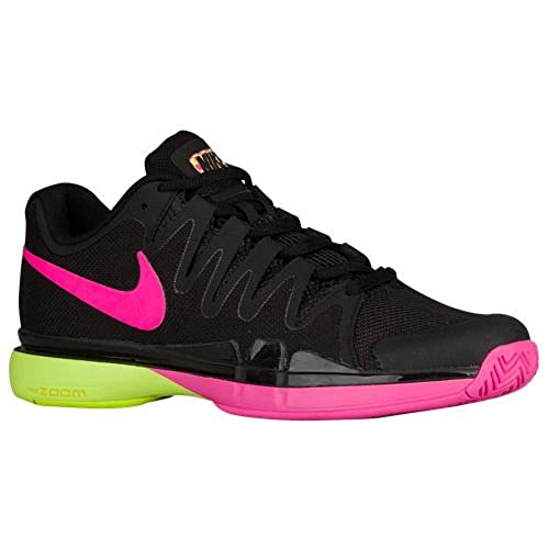 c03faf2ff853 Nike Zoom Vapor 9.5 Tour Black Volt-Pink Blast Size 12.5  Amazon.ca  Shoes    Handbags
