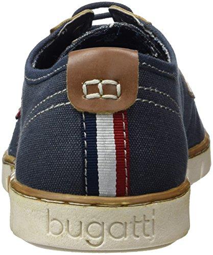 Bugatti K10166, Zapatillas para Hombre Azul (Dunkelblau 425)