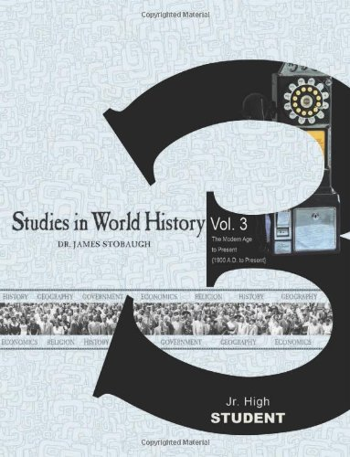 Download Studies in World History Volume 3 (Student) ebook