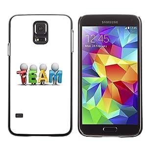 GagaDesign Phone Accessories: Hard Case Cover for Samsung Galaxy S5 - TEAM