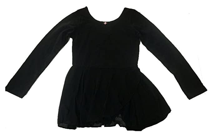9f80b7895 Amazon.com  Capezio Future Star Girls Dance Long Sleeve Dress Large ...