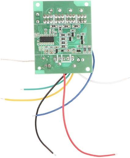 5CH RC Controller Circuit Board Receiver Set Repair Drive Parts DIY Kids Toy