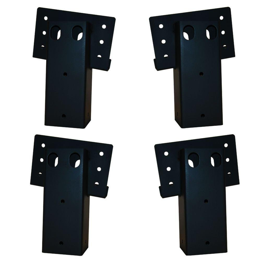 Elevators 4 in. x 4 in. Double Angle Brackets (4-Set), E188