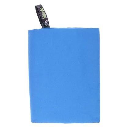 MagiDeal Toallas Compactas de Secado Rápido para Nadar de Playa Viajes Gimnasio Ducha Acampar - Azul