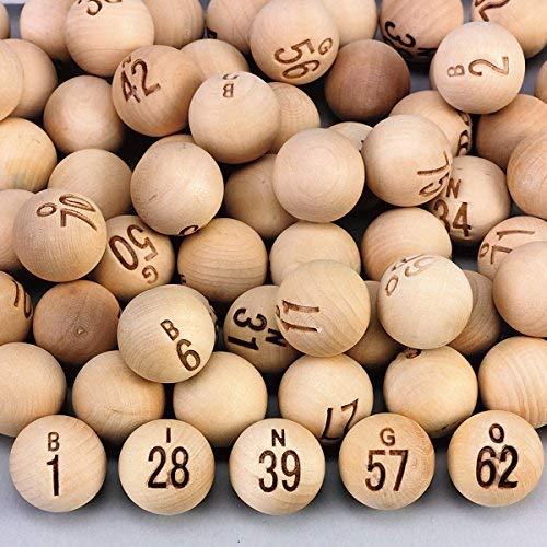 Wooden Bingo Balls ()