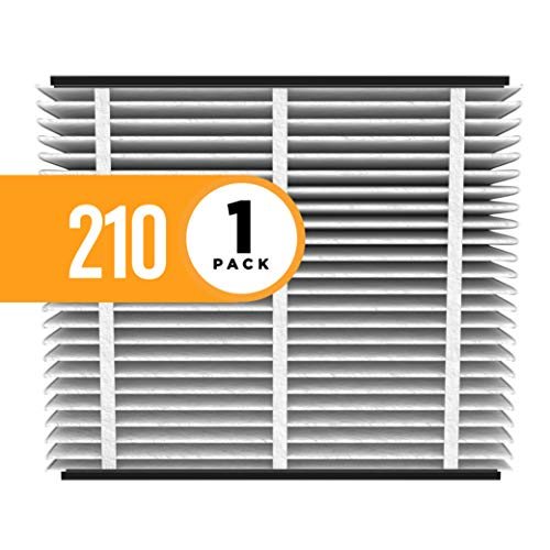 Single Replacement Flap - Aprilaire 210 Air Filter for Aprilaire Whole Home Air Purifiers, MERV 11 (Pack of 1)