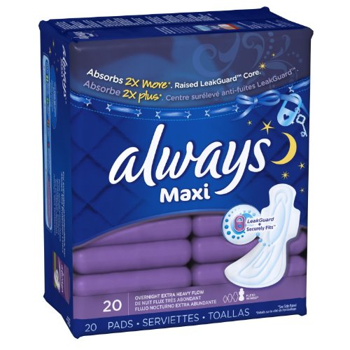 always-extra-heavy-overnight-maxi-pads-with-flexi-wings-20-count-2-pack