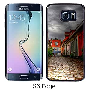 Alley Hard Plastic Samsung Galaxy S6 Edge G9250 Protective Phone Case