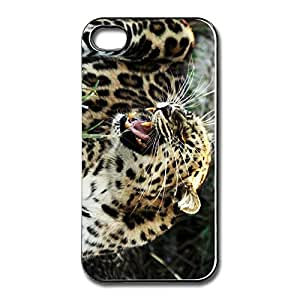 Customize High Quality Roaring Leopard Iphone 4/4S Protector