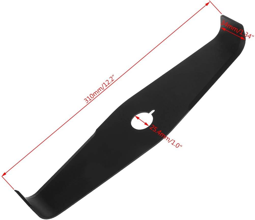 Manyo - Cuchilla de repuesto para cortacésped (310 mm, 2T, para ...
