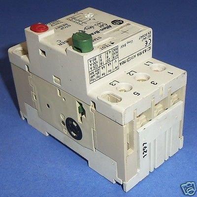 Allen-Bradley 140-MN-1000 SER C Starter Manual Motor T16165