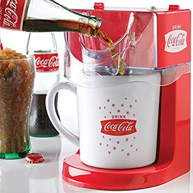 Nostalgic Coca-Cola Coke 16 Ounce Single Serve Frozen Slushy Maker Machine