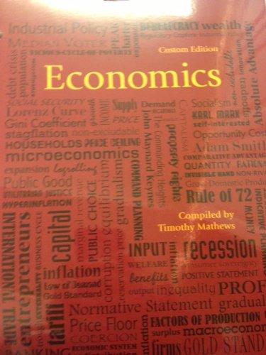 Economics: Custom Edition