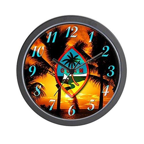 CafePress - Guam Island Chat Wall Clock - Unique Decorative 10