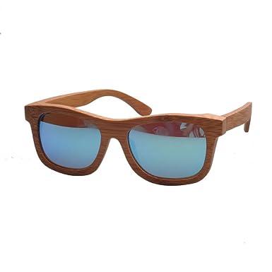 100% handgemachte Bambus-Holz-Sonnenbrille-hölzerne Sonnenbrille XfLoOm21l