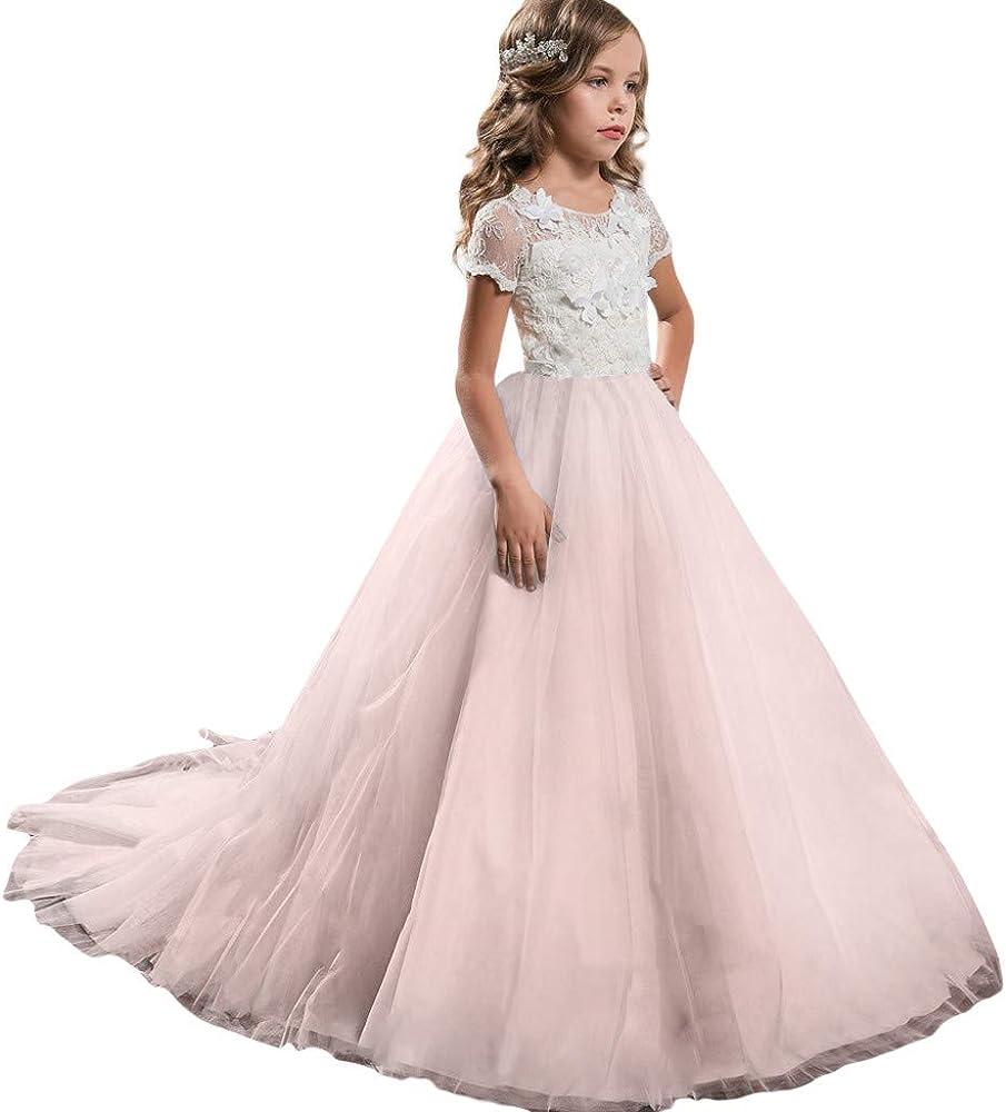 8-8 Jahre Festliche Kinderkleider Party Geburtstag Hochzeit für