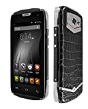 Doogee Dg700 Titans 2 Ip67 Cm11 Os Waterproof Mtk6582 Quad Core Mobile Phone Android 5.0 4.5inch 1gb 8gb 5mp 2mp 3g Crocodile Skin Likely Real Leather Surface