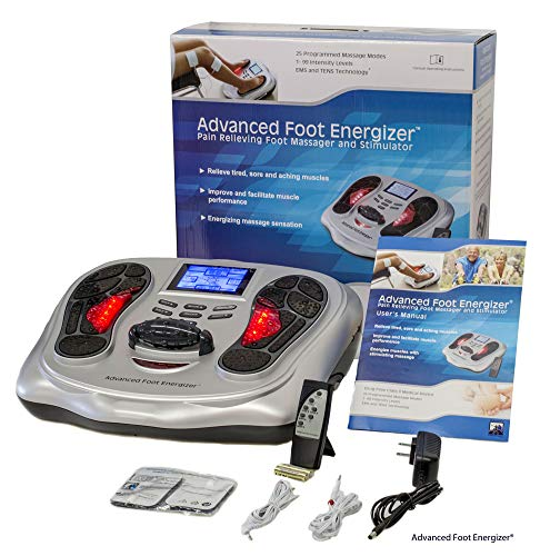 (Electrical Foot Stimulator with Both TENS and EMS from Advanced Foot Energizer®)