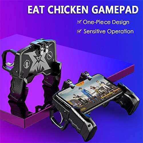 Amazon com: ROWEQPP K21 PUBG Mobile Gamepad Joystick Metalen