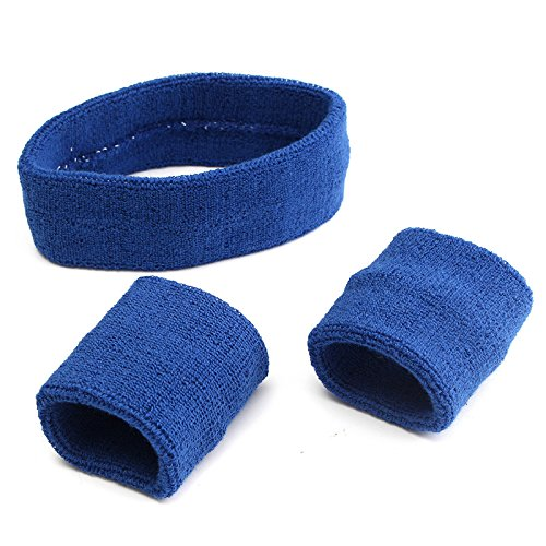 Bracelet - 3 Piece Set Band Headbrand Wistband Sweatband Workout Gym Basketball - Watchstrap Watch - 1PCs by Unknown (Image #4)